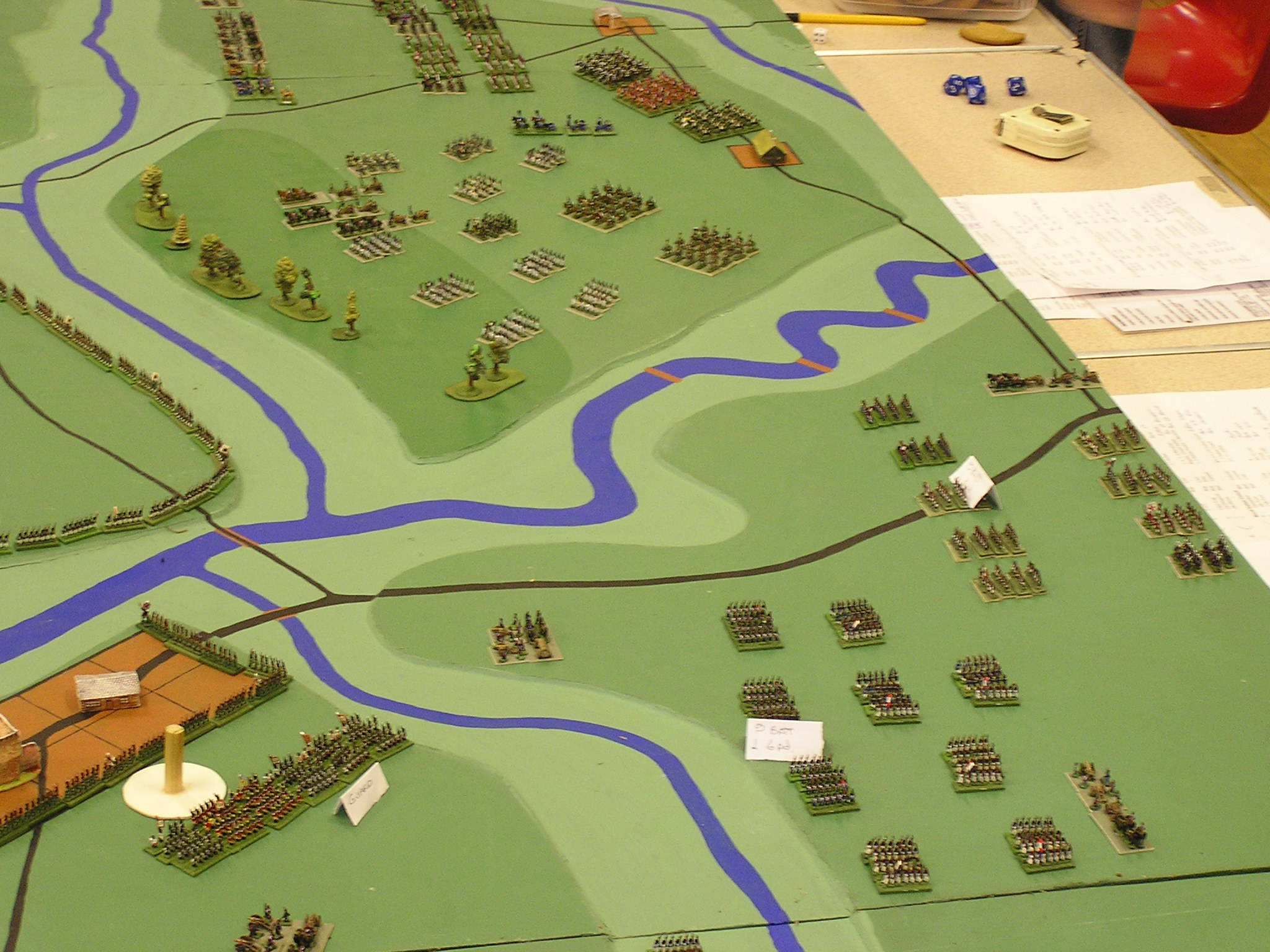 French VIII Corps Advance