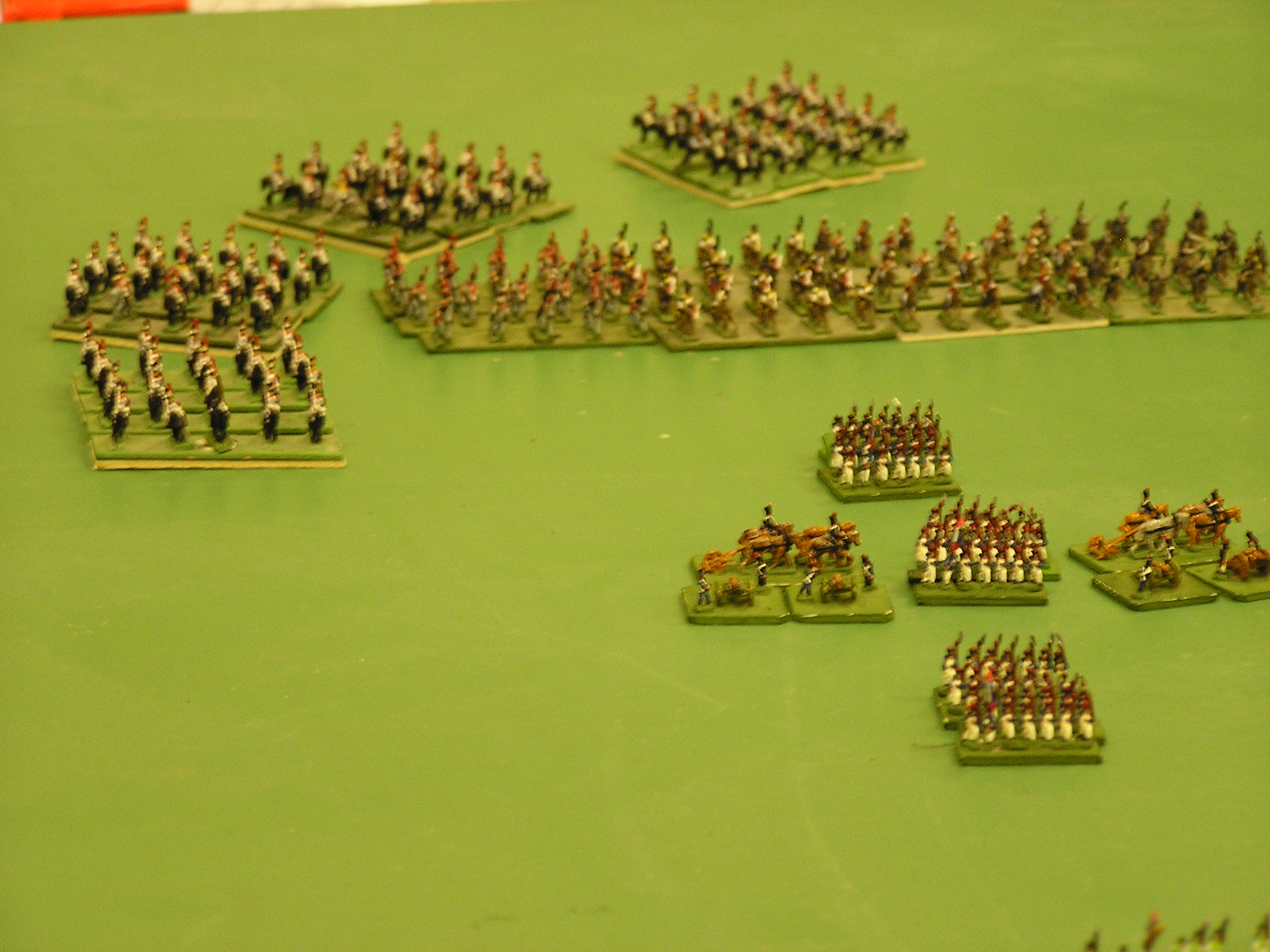 French Cavalry Advance in South