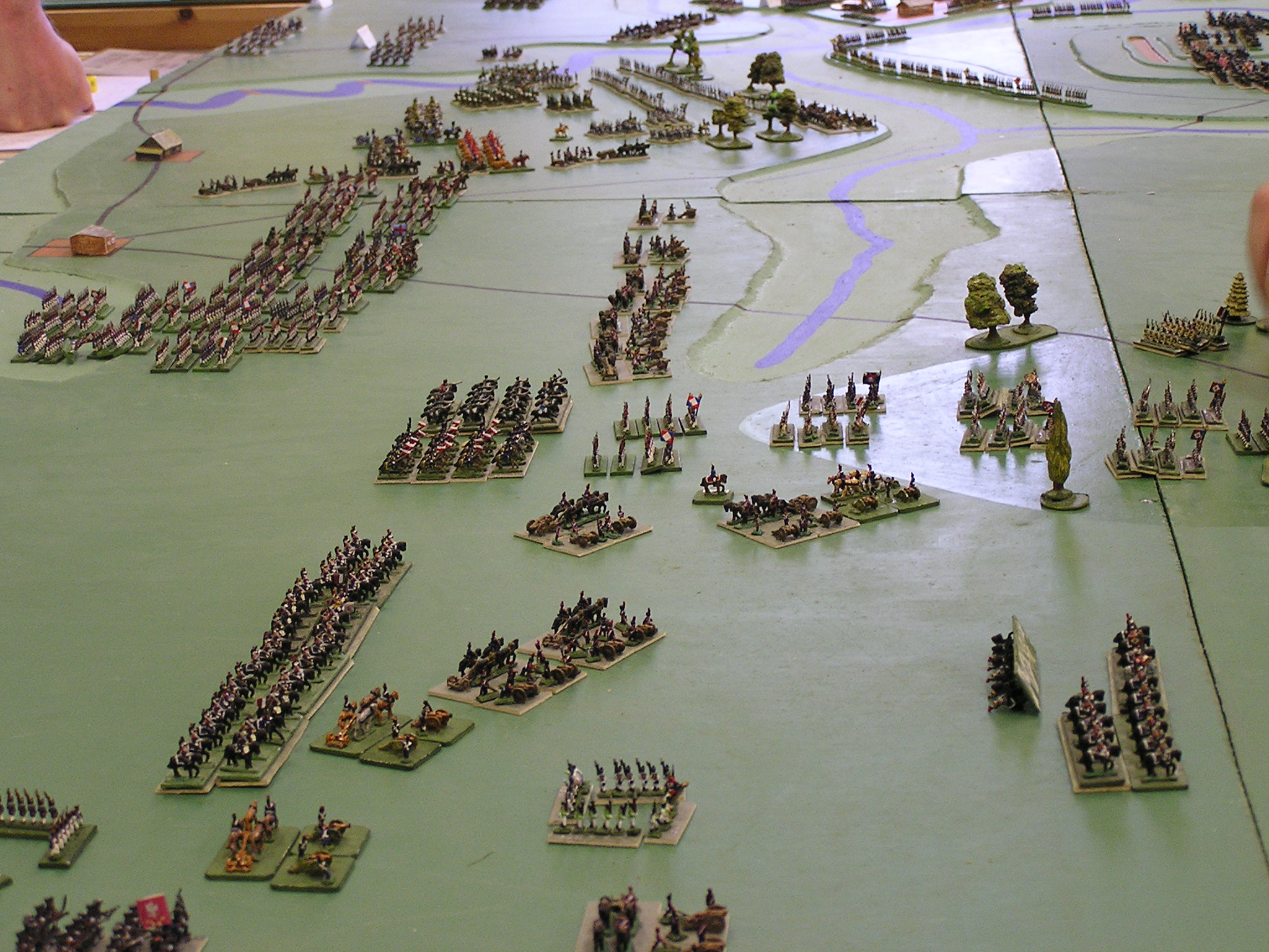 French cavalry advance