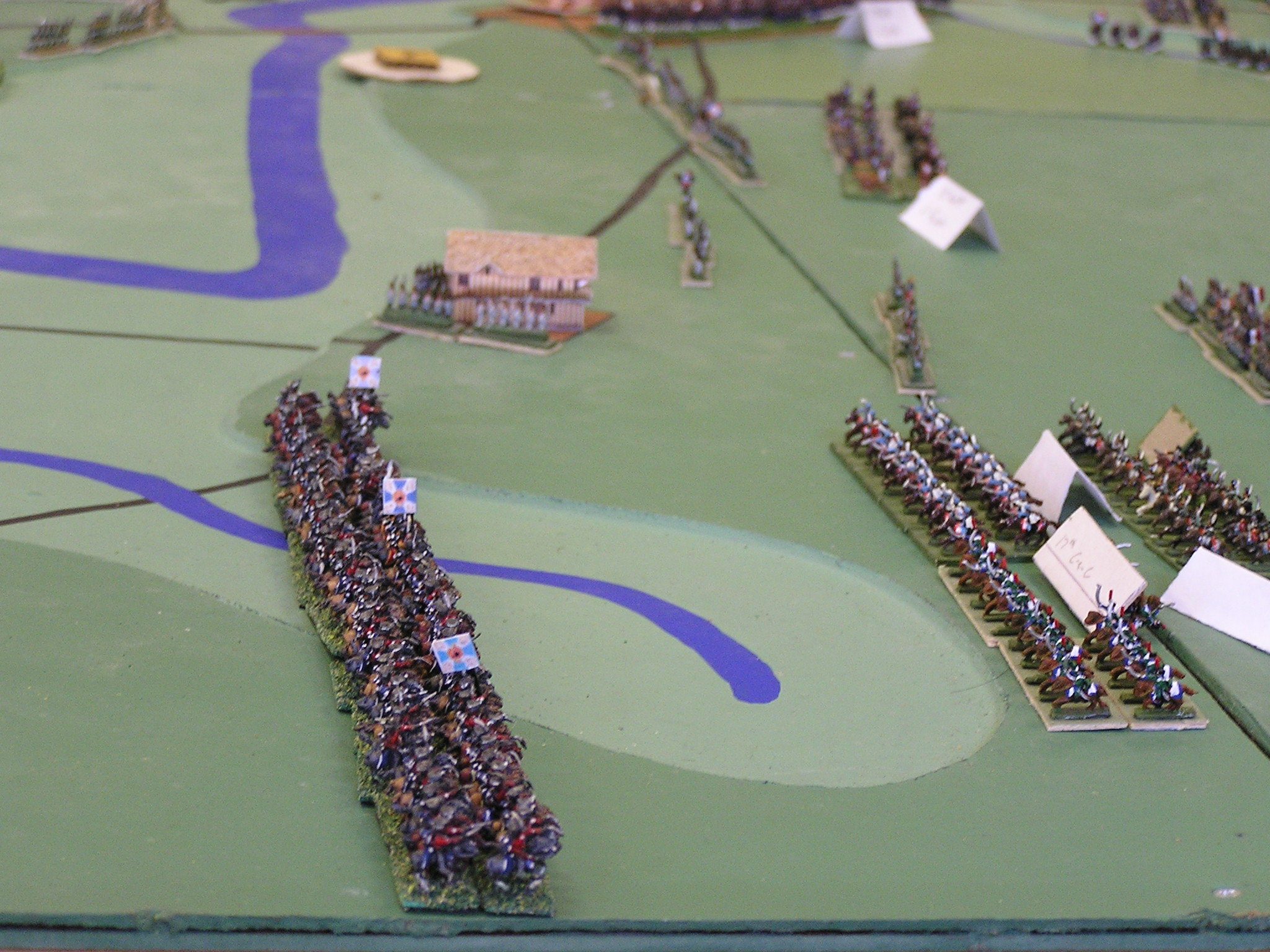 French cavalry in North pushed back