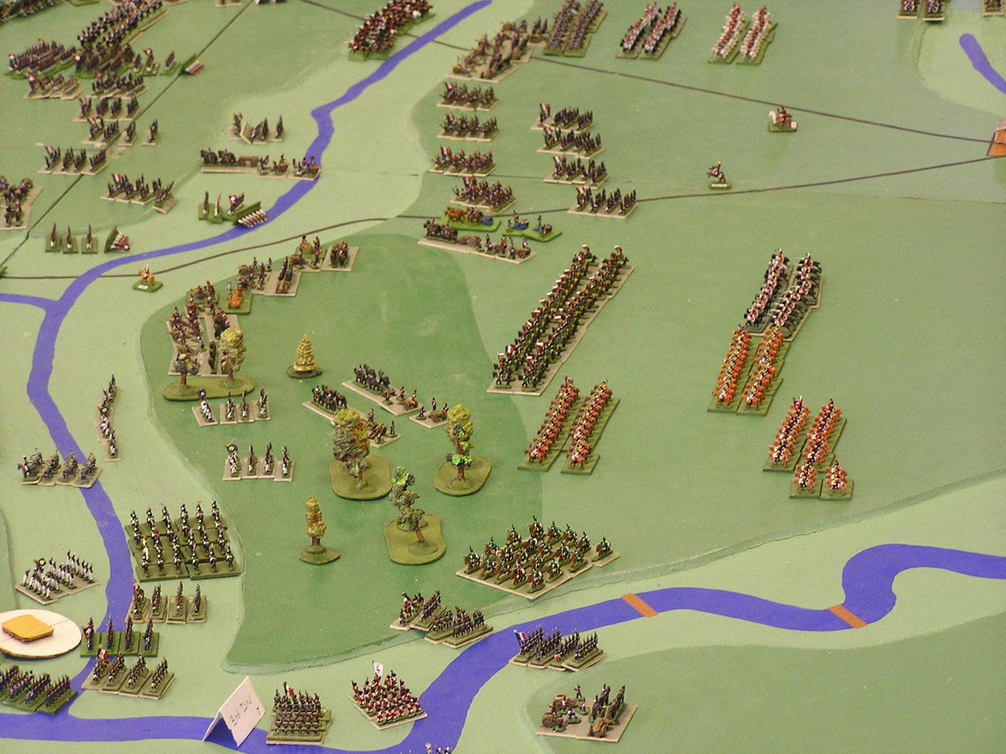 French Reserves advance